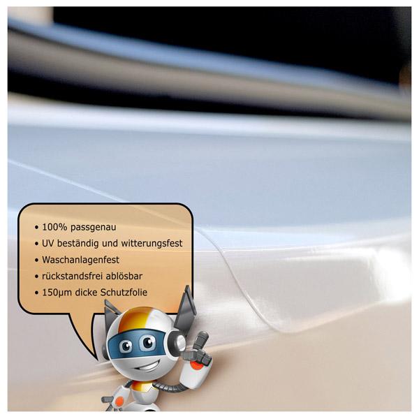 Lackschutzfolie passend Skoda Octavia III Combi 5E Ladekante transparent 150µm